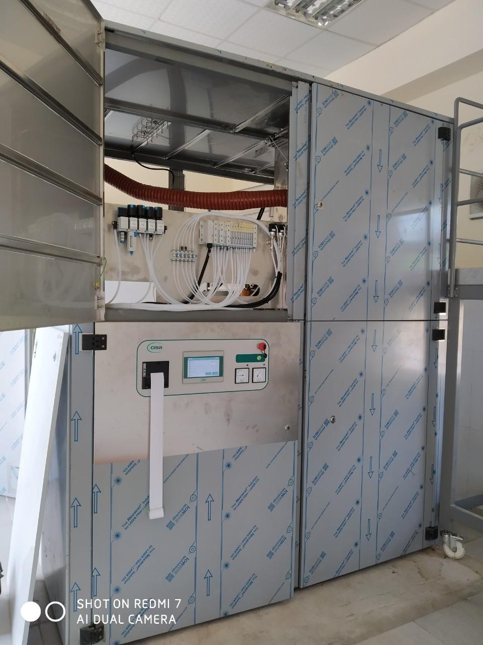 xử lý rác thải y tế bằng công nghệ nghiền cắt tiệt trùng